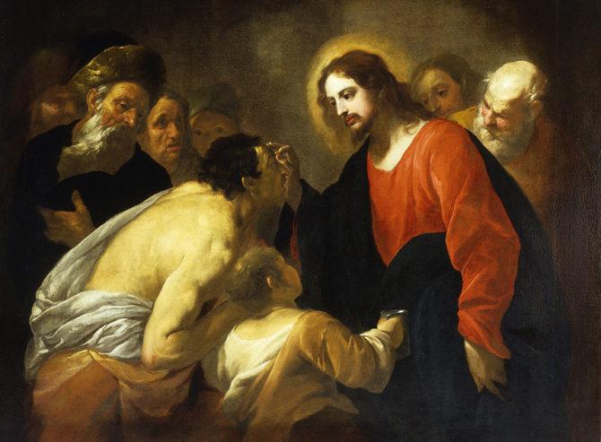 """""""Andò, si lavò e tornò che ci vedeva"""". L'omelia di don Pietro di domenica 26 marzo"""