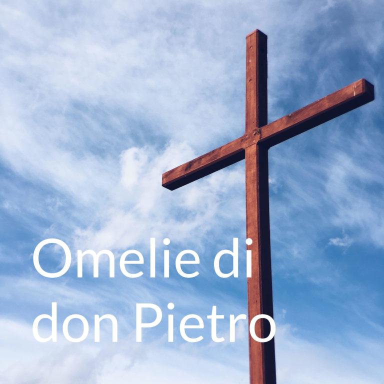 Omelia di domenica 29 marzo, V domenica di Quaresima